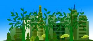 A városok zöldítése az ott működő vállalkozásokon is múlik - kép: Pixabay