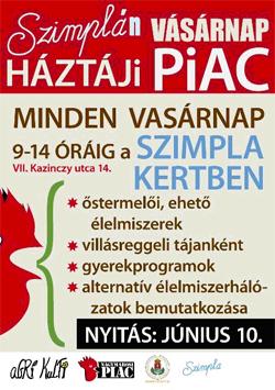Szimpla piac plakát