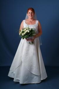 Ekrü esküvői ruha - nem hófehér...