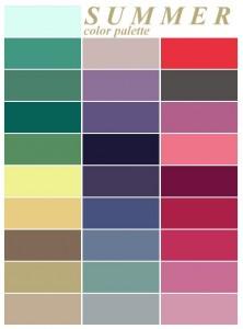 A nyár színei: kép: Pinterest
