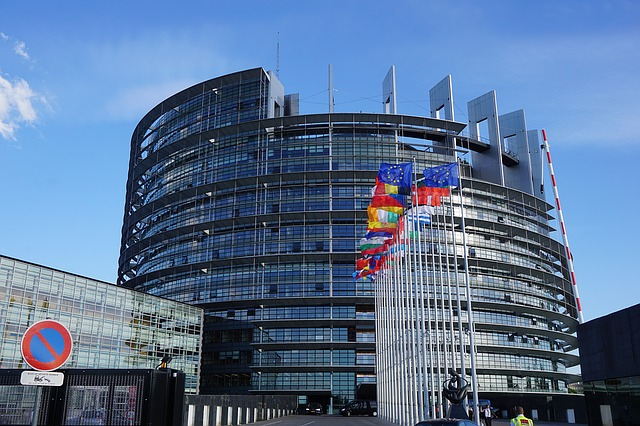 Strasbourg Eu European Parliament Europe Building - Max Pixel