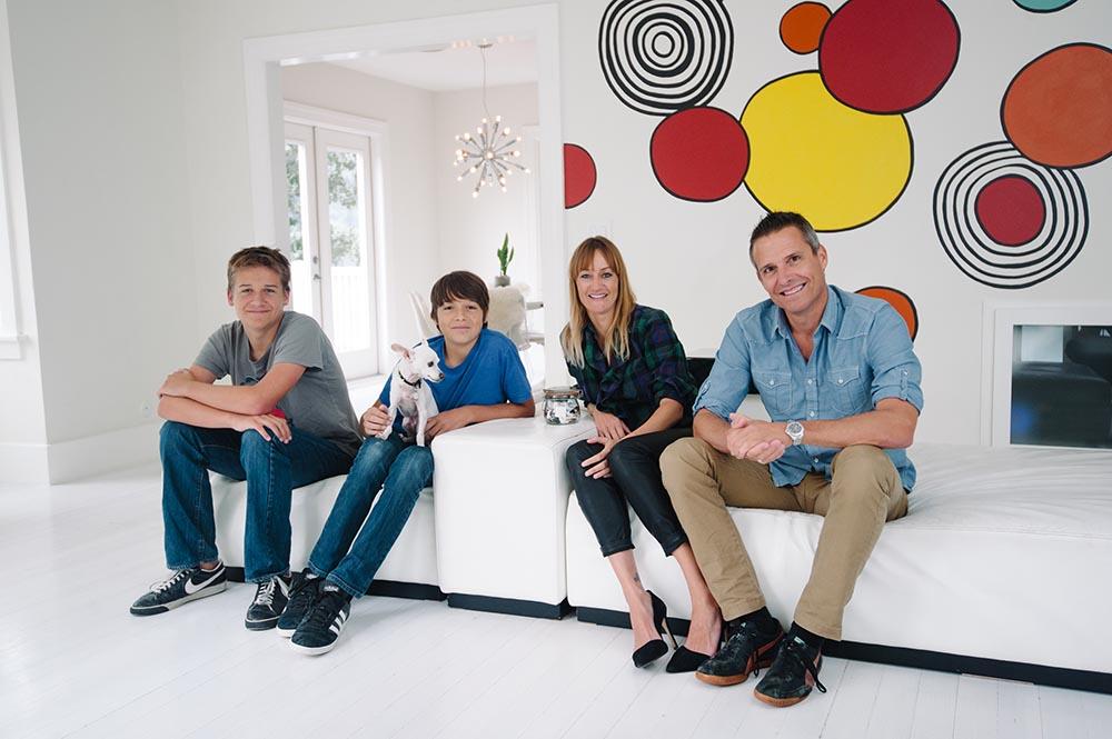 Bea Johnson és családja, Copyright: Coleman-Rayner