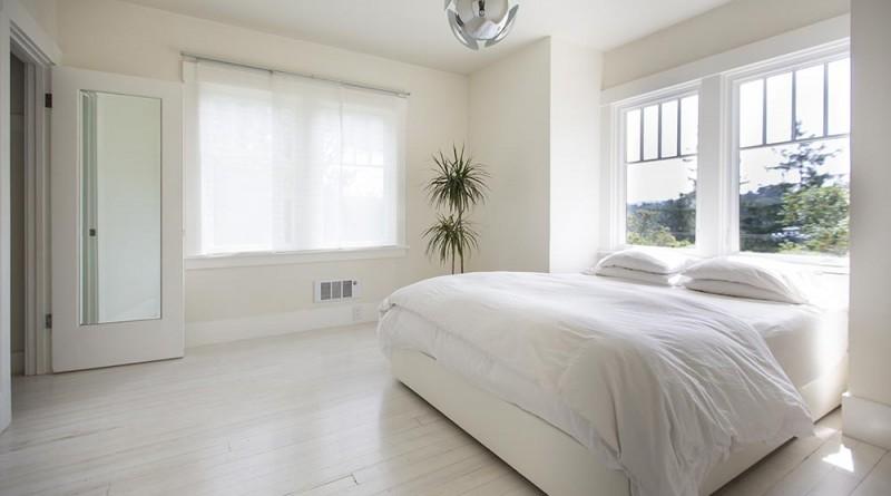 A hálószoba - csak egy ágy és más semmi ..., Copyright: Michael Clemens