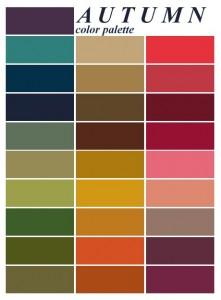 Őszi paletta - kép: Pinterest