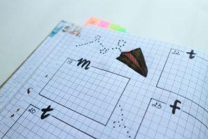 A BuJo elemei – eligazodás a naplóban